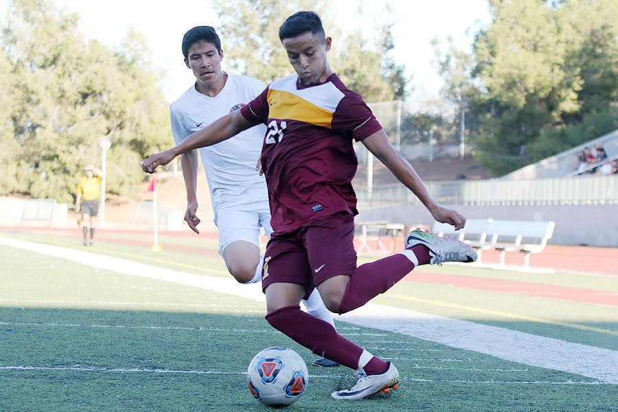 Yader Rodriguez returns as a leading scorer for the 2017 PCC men's soccer team.