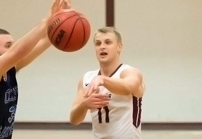 Men's Basketball: Norwich Cruises Past Suffolk, 73-42