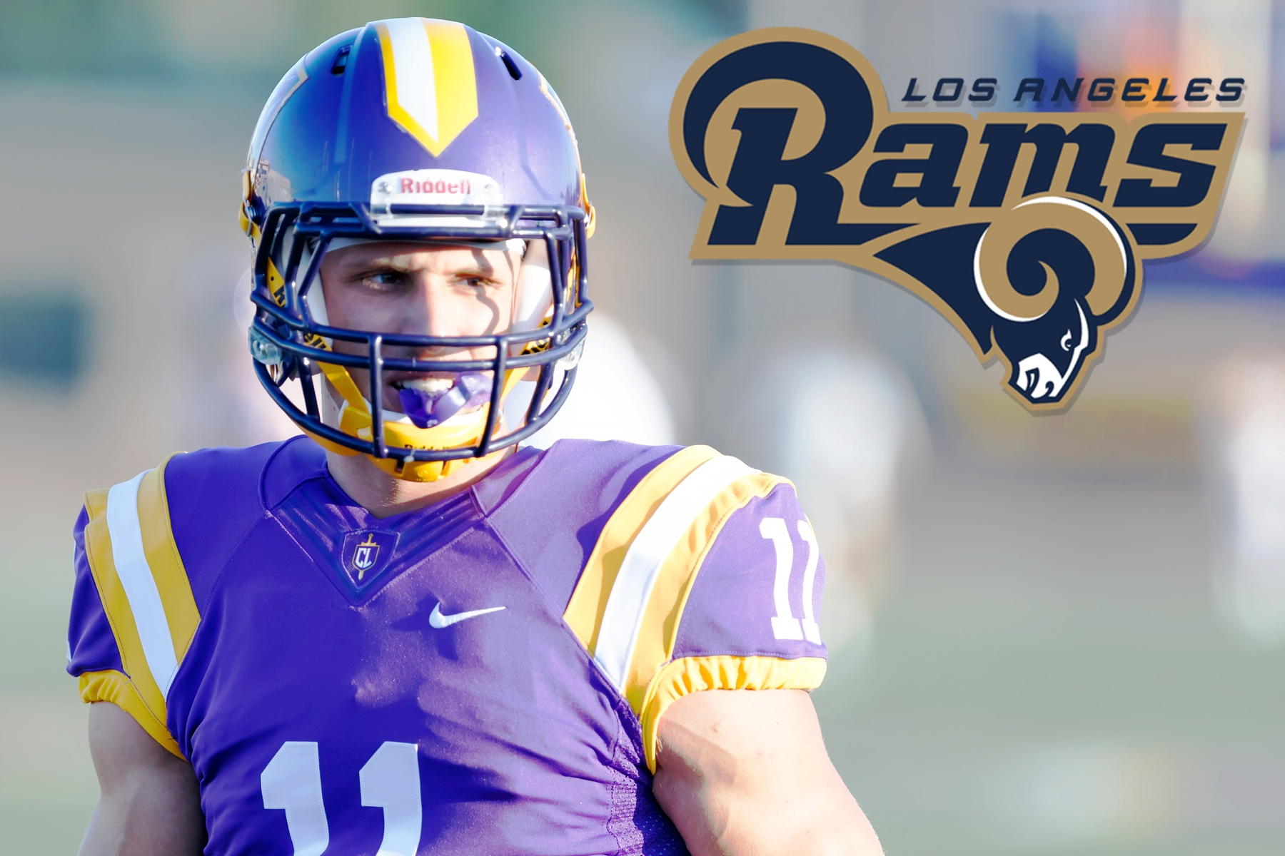Aaron Lacombe Invited to Rams Rookie Minicamp