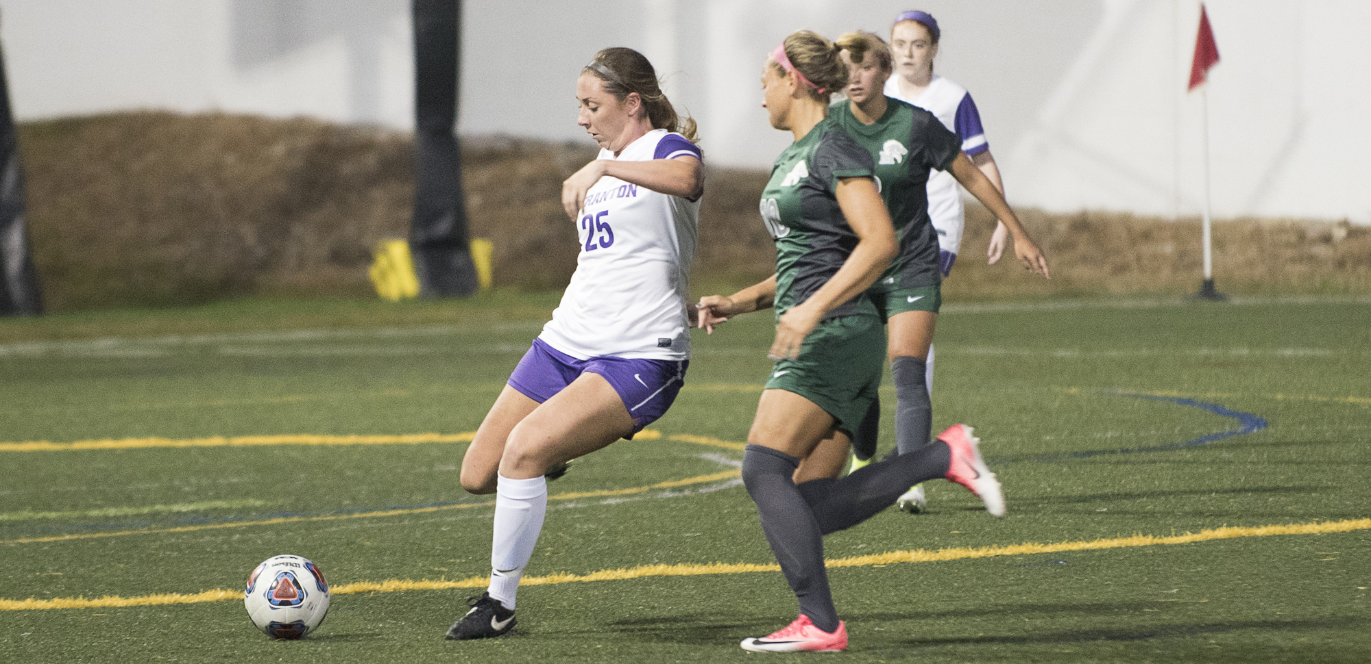 Senior Meredith D'Angelo scored her first goal of the season on Wednesday night.