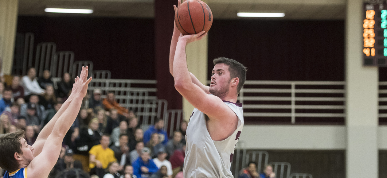 Men's Basketball Hangs On For 73-67 Victory Over Keene State