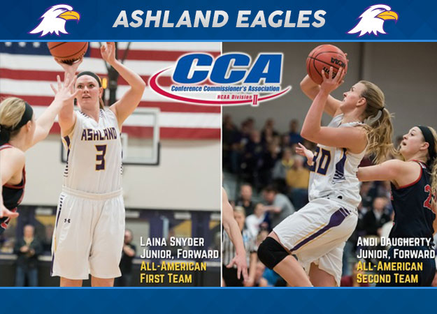 Ashland's Snyder, Daugherty Earn D2CCA All-American Recognition