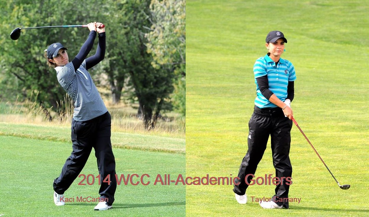 Camany, McCartan Named To WCC Women's Golf All-Academic Team