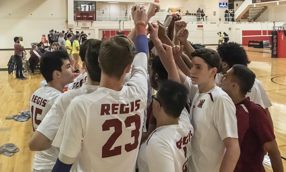 Men's Volleyball Falls in Season Finale
