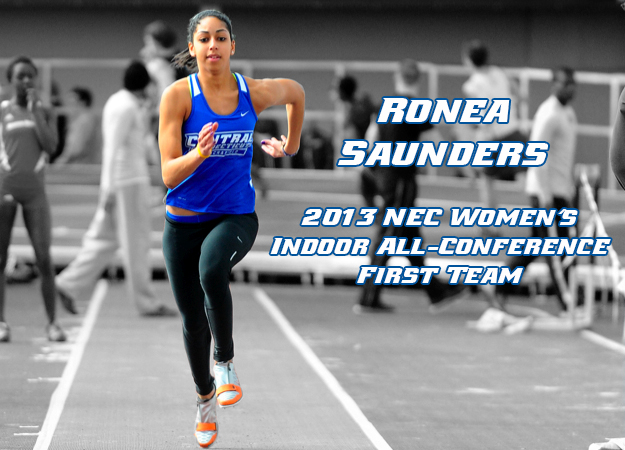 Saunders Named to All-NEC First Team