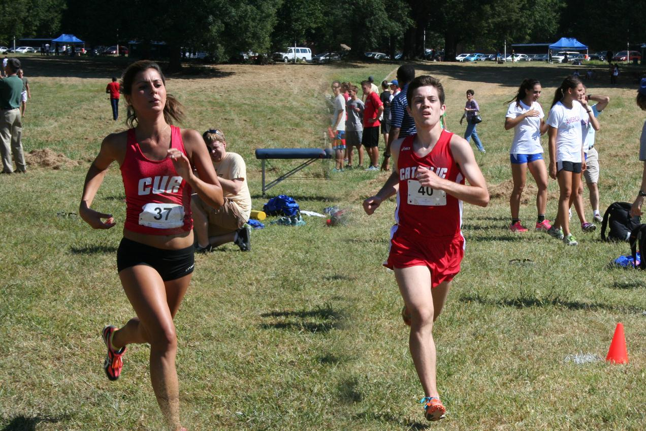 CUA Men's and Women's Cross Country Squads Take Sixth Place