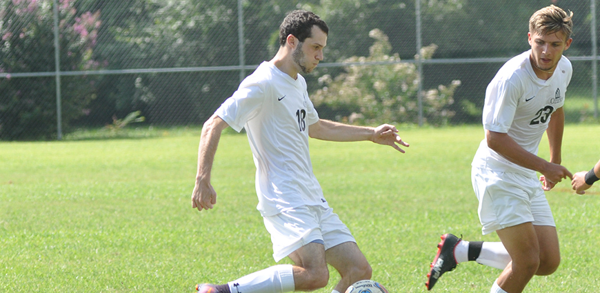 Men's Soccer Team Nets 2-0 WIn