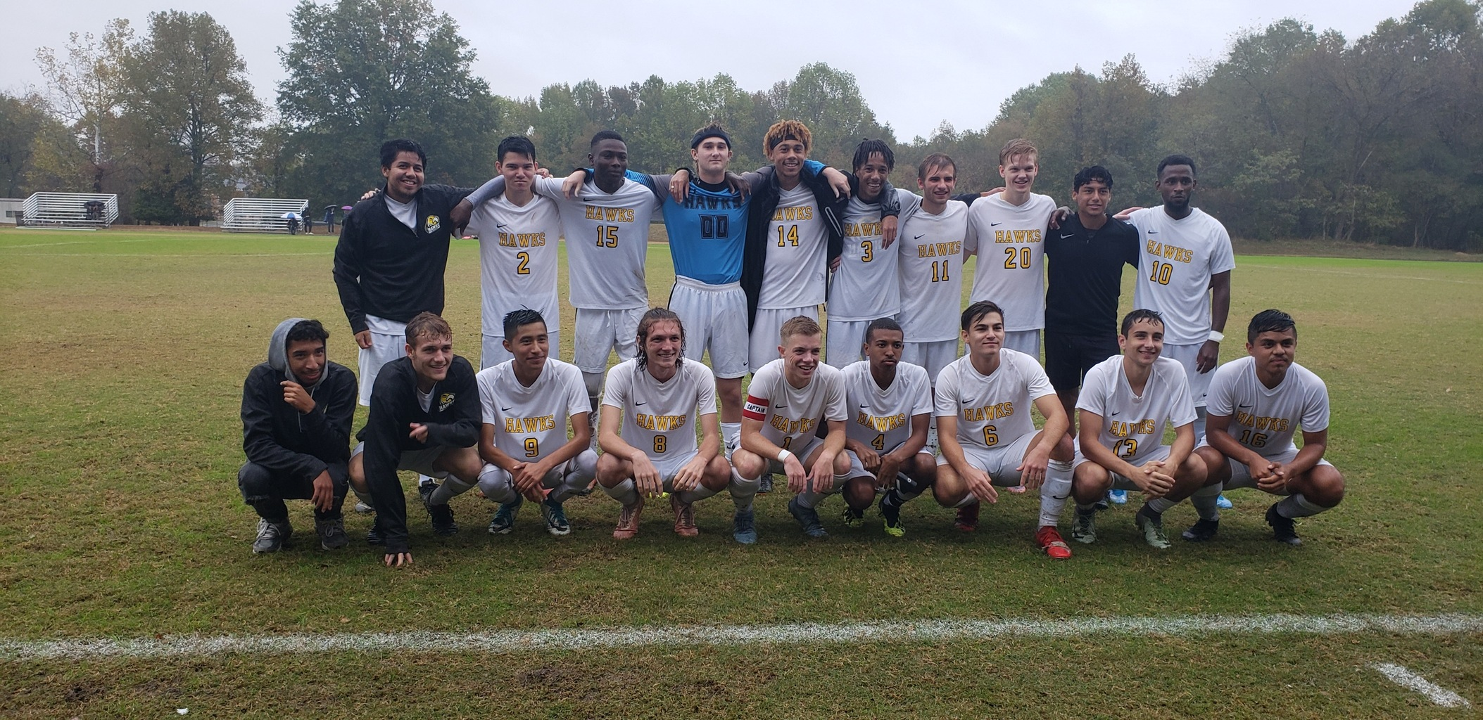Men's Soccer Ends Season with Win Against Allegany
