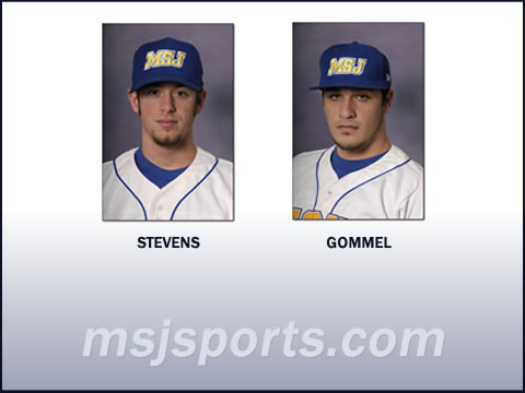 Lions' baseball players Chase Stevens and Spencer Gommel selected All-Conference