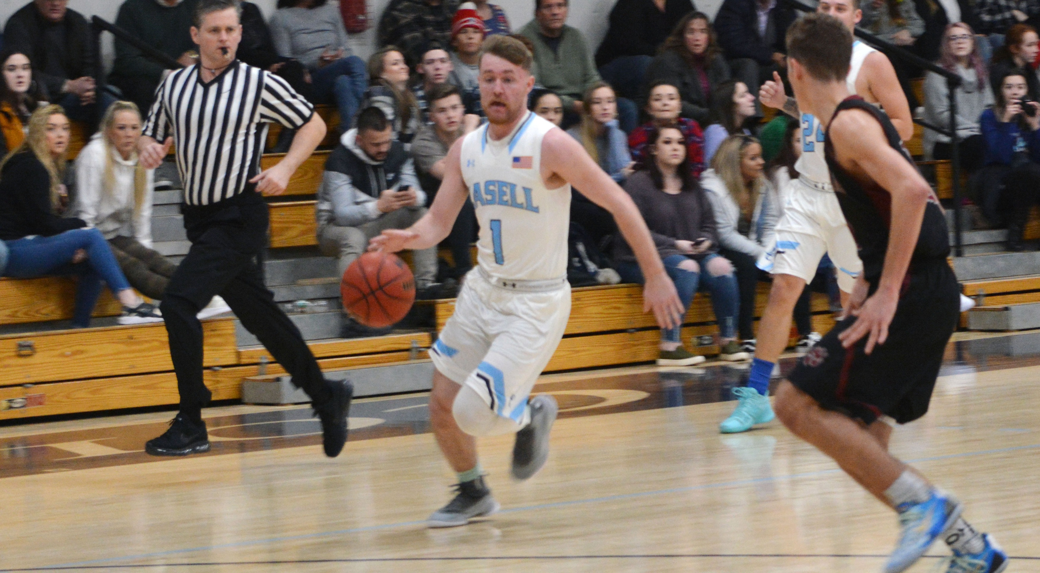 Lasell Men's Basketball defeated by Norwich