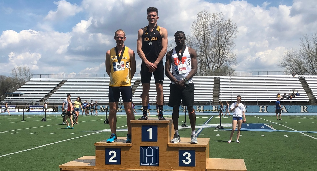 Track & Field Records 10 Podium Finishes; Carroll, Bass And Men's 4x100 And 4x400 Teams Take First Place At Great Midwest Championship