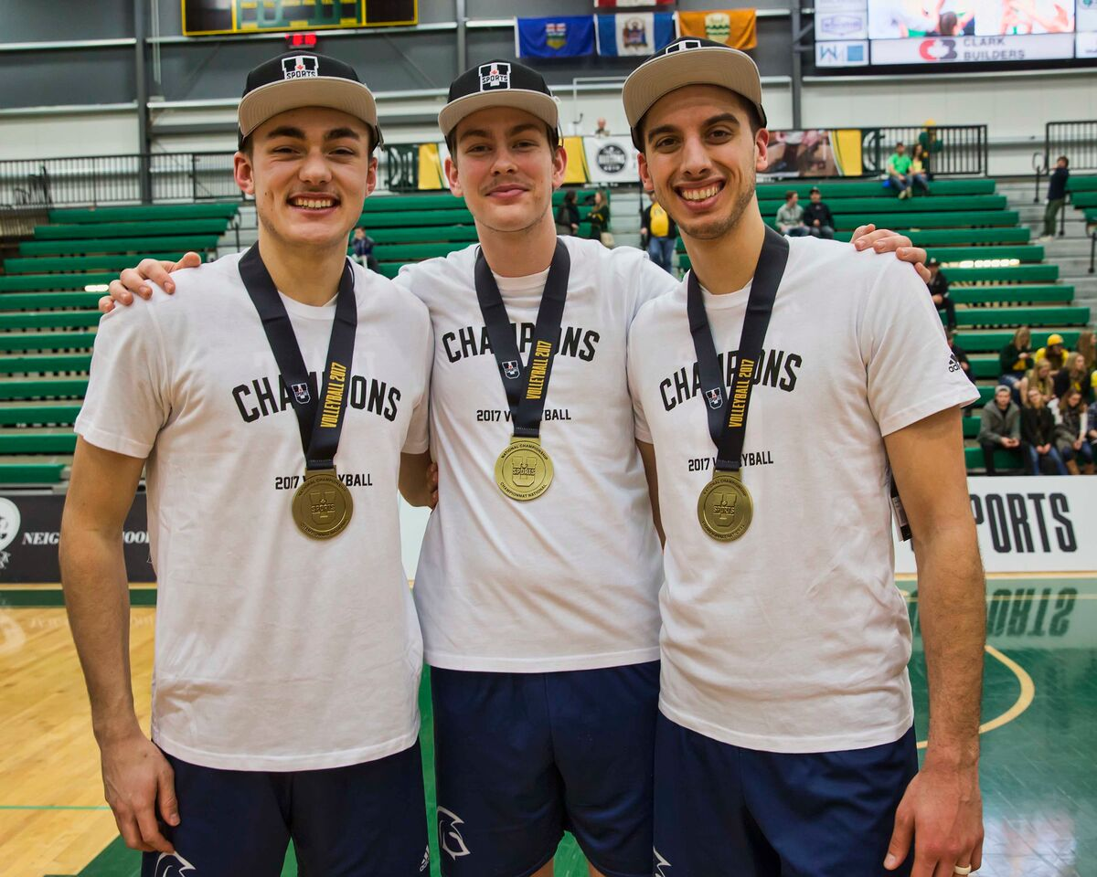 2017 U SPORTS Champions Series: Spartans' depth key to men's volleyball repeat