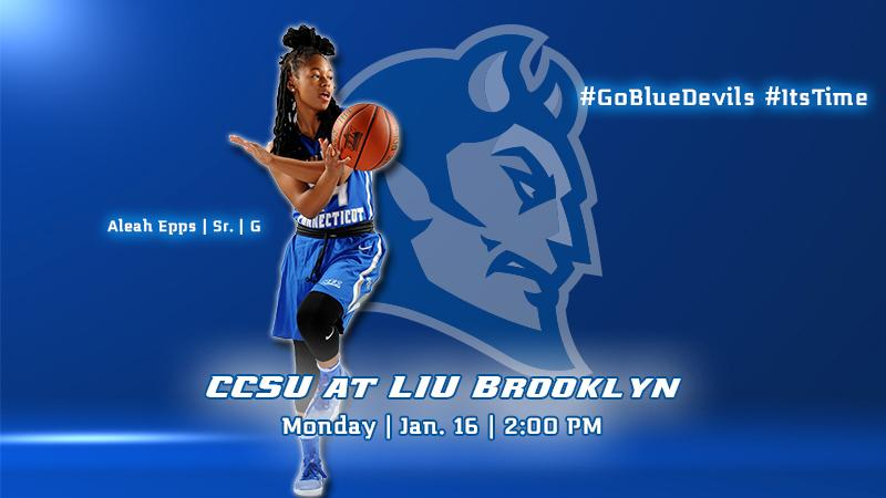 Blue Devils Look to Remain Perfect in NEC Play at LIU Brooklyn Monday