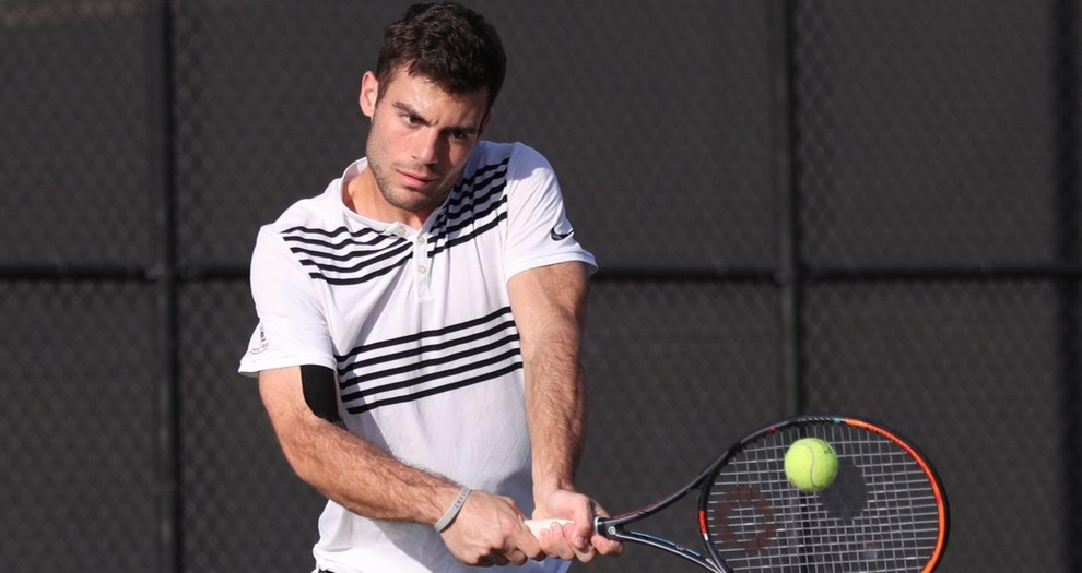 Men's Tennis Lose Road Match to Utah State on Friday