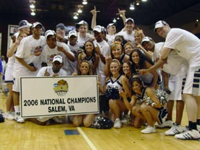 Virginia Wesleyan Marlins: 2006 National Champs