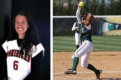Dominican's Childers Honored as CACC Softball Player of the Week, Wilmington's Warrington Repeats as League's Top Pitcher