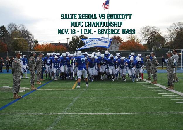 Salve Regina's defense is first in the league as the Seahawks go to Beverly, Mass. to face the Gulls.