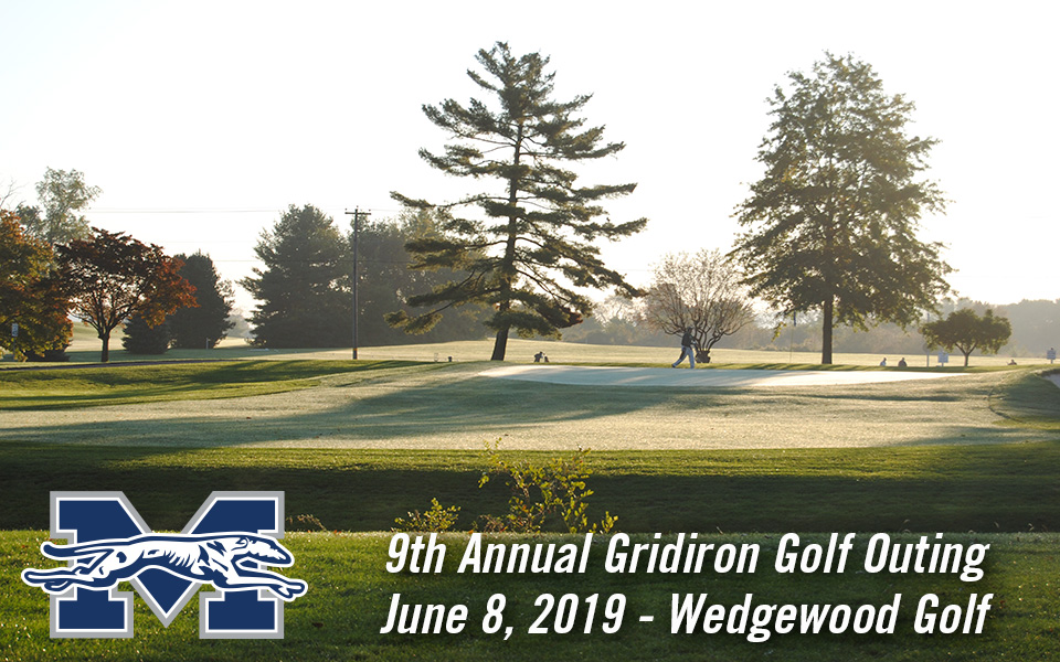 Wedgewood Golf Course is the site for the 9th Annual Greyhound Gridiron Golf Classic on June 8, 2019.