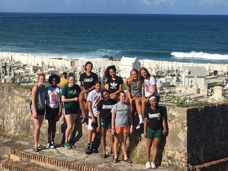 WOMEN'S HOOPS EXPLORES OLD SAN JUAN BETWEEN GAME DAYS, PLUS DAY 4 PLAYER BLOGS