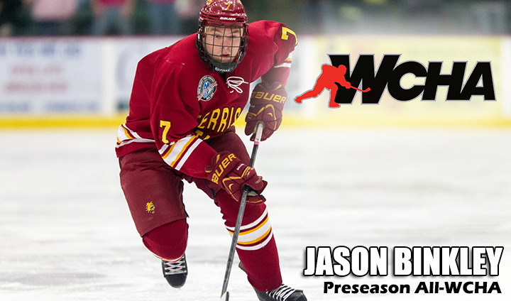 WCHA Head Coaches Pick Ferris State Second In Preseason Poll