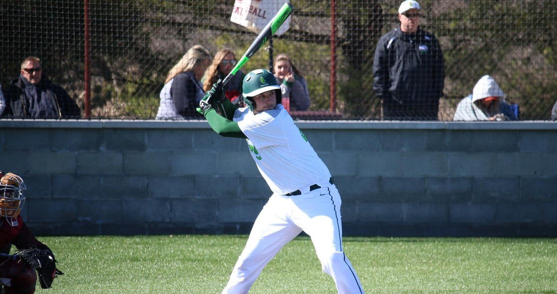 Baseball Drops Doubleheader in Two Close Games at Earlham on Sunday