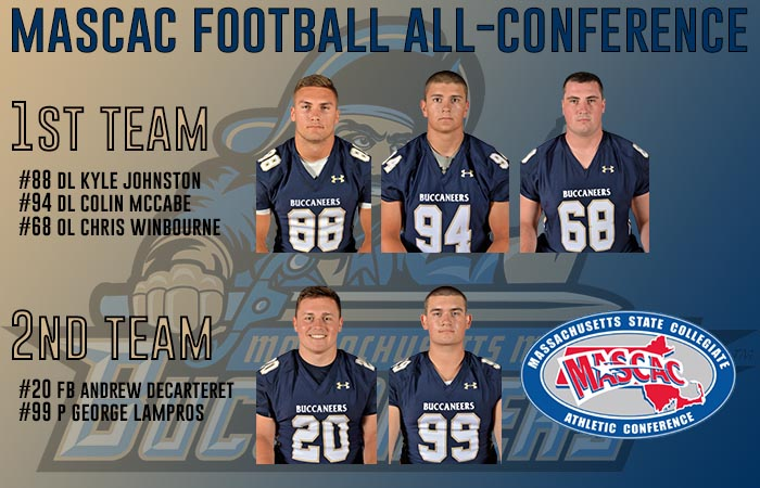 Five Buccaneers Named to MASCAC All-Conference Teams
