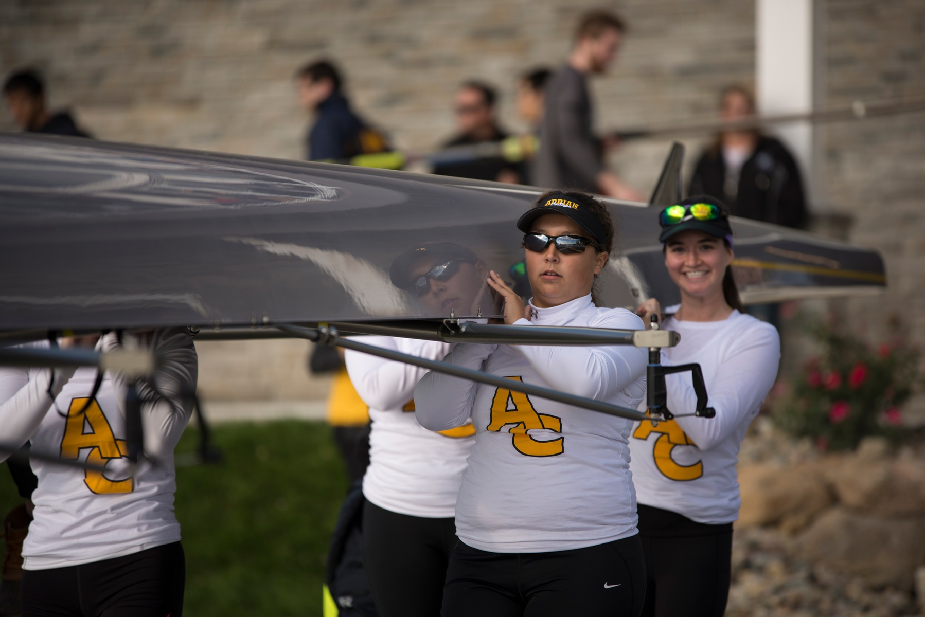 Adrian College Women's Rowing had an impressive opening season this fall and look for more in the spring. (Action photo by Hollie Smith)