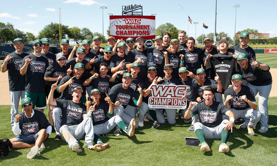WAC CHAMPIONS! BASEBALL WINS SIXTH STRAIGHT TOURNAMENT GAME TO CLAIM 2019 CONFERENCE TITLE