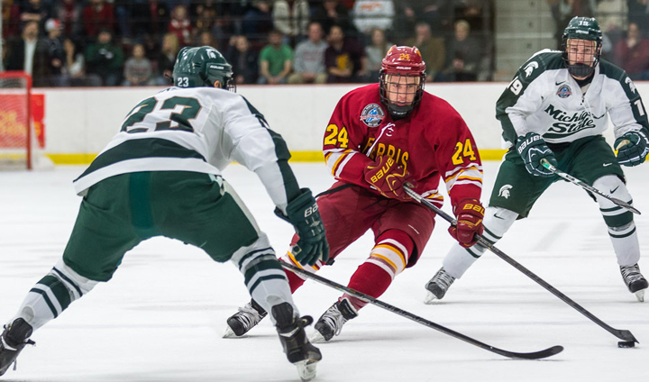 Bulldogs Complete Weekend Sweep Of Spartans With Decisive Win