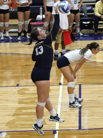 Piedmont Volleyball Sweeps Emory & Henry, 3-0, Monday Evening In Non-Conference Match
