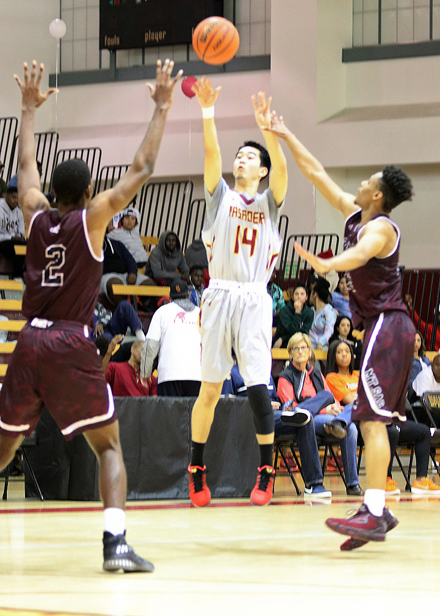 Kitagawa Leads Rain of 3s, But Men's Hoops Loses To Mt. SAC