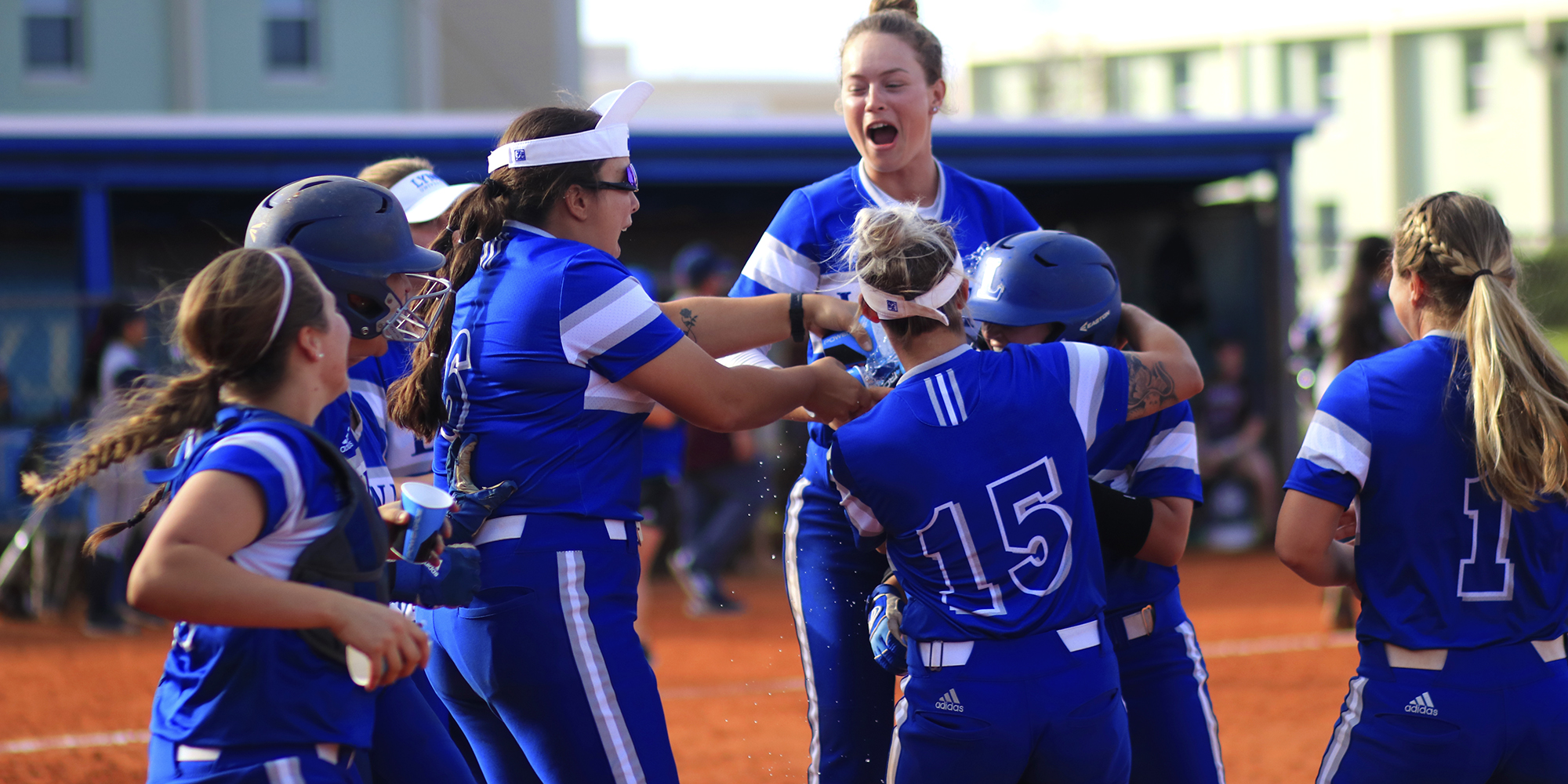 It's a Walk-Off; Wyatt & Veliz Give Softball Sweep of Bobcats