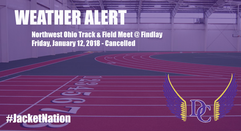 Inclement Weather Forces Cancellation of Northwest Ohio Track and Field Inv.