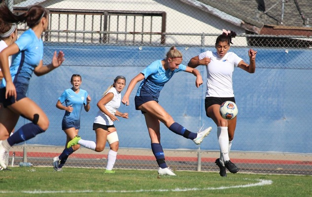 No. 3 Lady Chargers Knock Off No. 6 Santiago Canyon in OEC Home Opener, 1-0