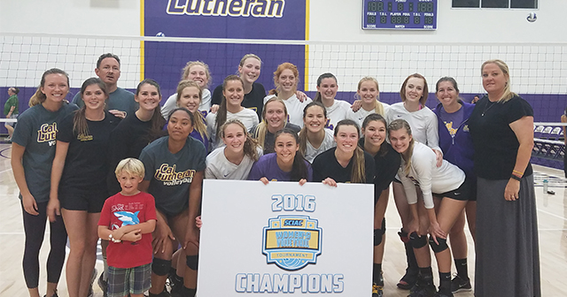 Cal Lutheran Crowned SCIAC Postseason Volleyball Tournament Champions