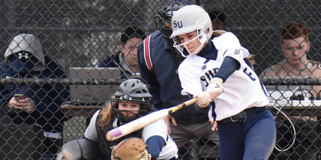 Softball Run Rules Albertus Magnus, 11-3, in Nightcap