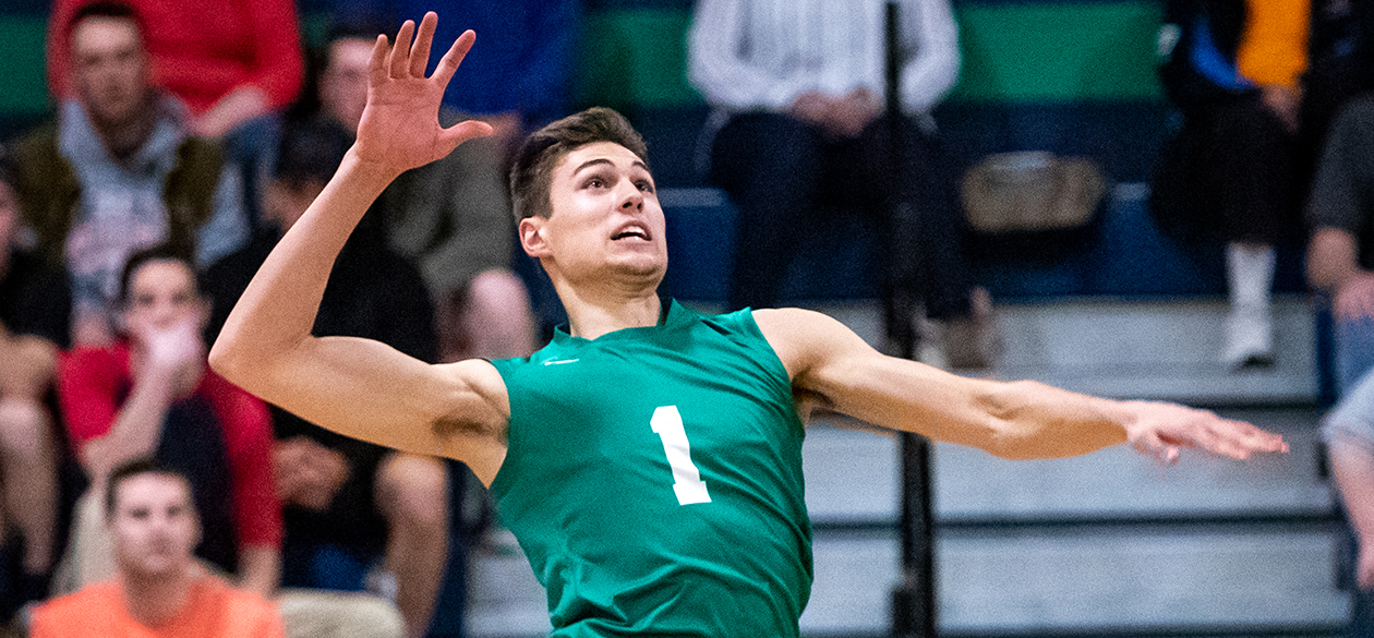 No. 14 Men's Volleyball Turns Away No. 13 Wentworth, 3-1