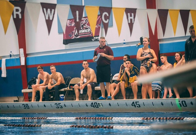 Swimming & Diving: Cadets Sweep Chargers in Home Opener