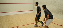 Big Weekend for Club Squash Team