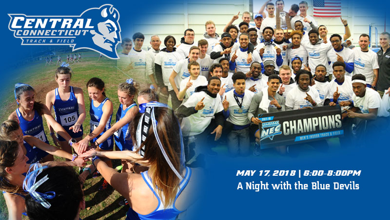 "Track and Field Programs to Host a ""Night With The Blue Devils"" Fundraiser"