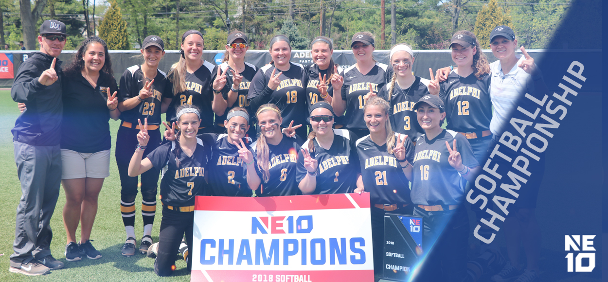 Embrace The Championship: Twice as Nice - Adelphi Repeats as NE10 Softball Champions