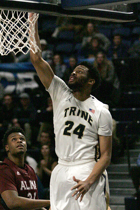 Maurice Hunter, Trine, Men's Basketball Player of the Week 1/29/18
