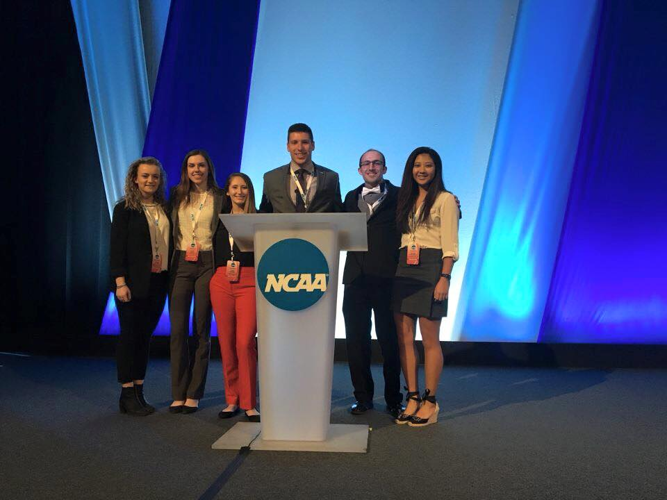 SUNYAC SAAC Cabinet Attends 2018 NCAA Convention in Indianapolis