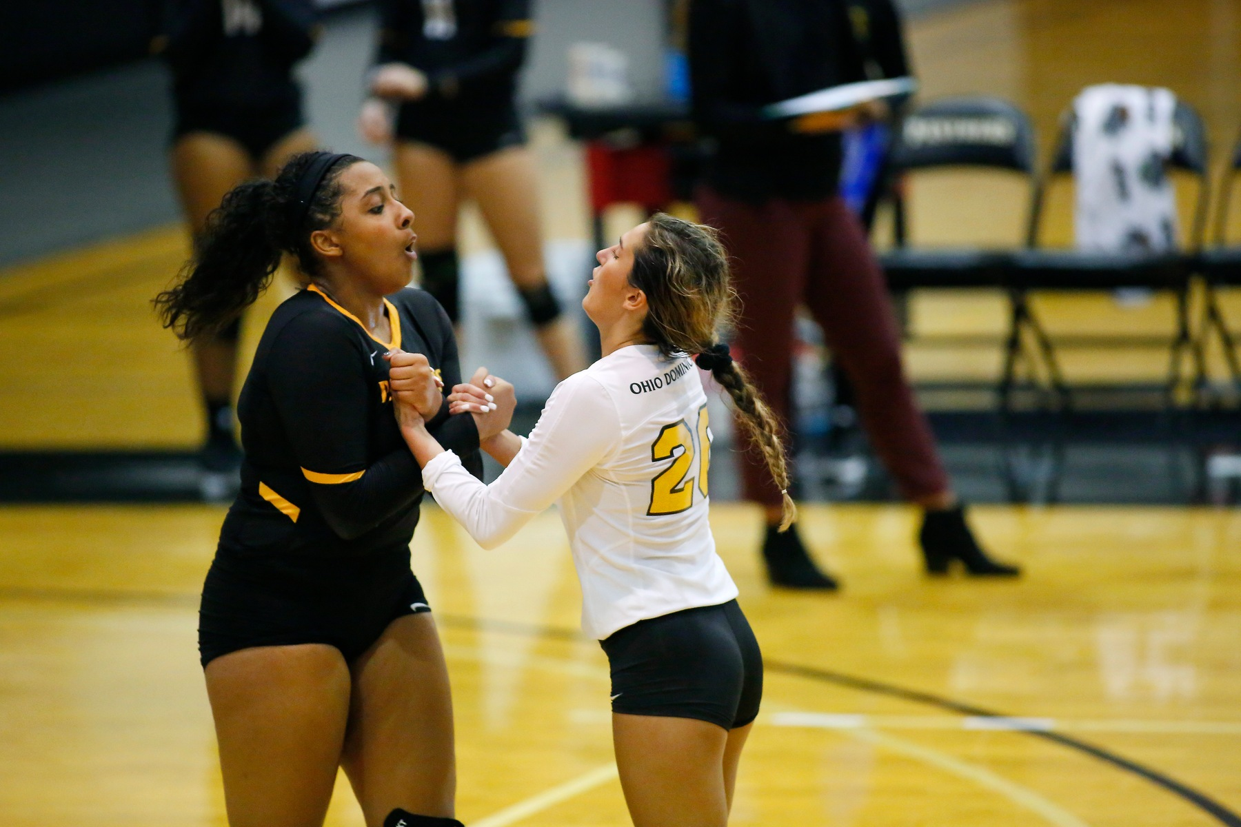 Volleyball Falls On Road At Tiffin