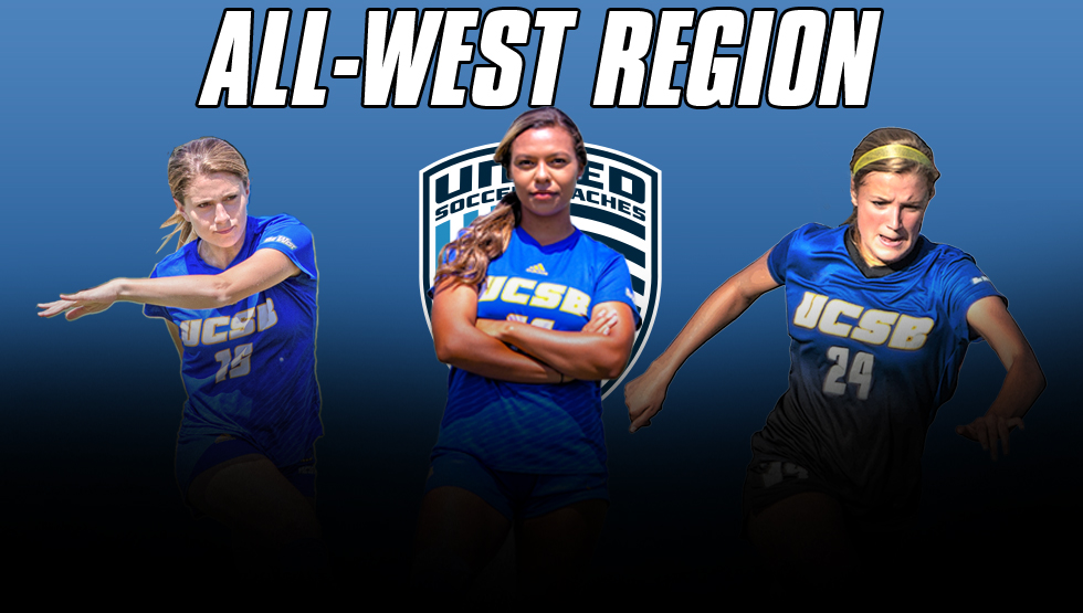 Gaucho Trio Named to United Soccer Coaches All-West Region Team