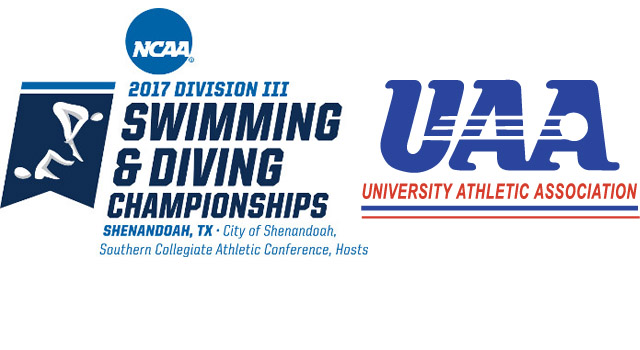 98 UAA Student-Athletes Competing in 2017 NCAA Division III Swimming & Diving Championships