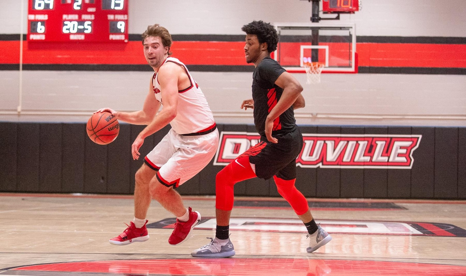 D'Youville Falls to Greensburg on the Road in Men's Basketball