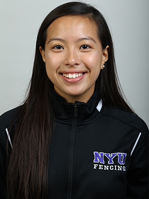 Tiffany Luong, Women's Fencing