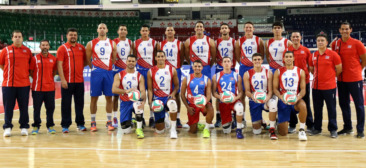 Rodriguez Lopez Helps Puerto Rico Win Silver Medal At NORCECA XII Men's Pan-American Cup