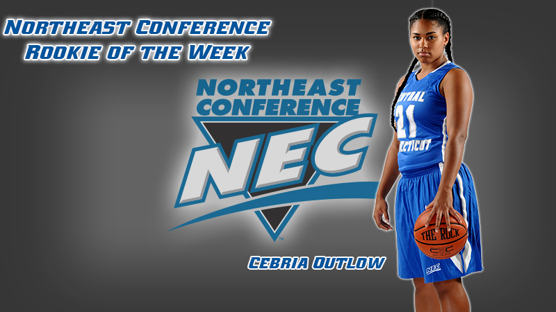 Outlow Tabbed NEC Women's Basketball Rookie of the Week